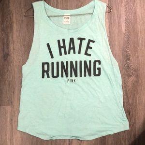 Victoria's Secret Pink - I hate running tank, med